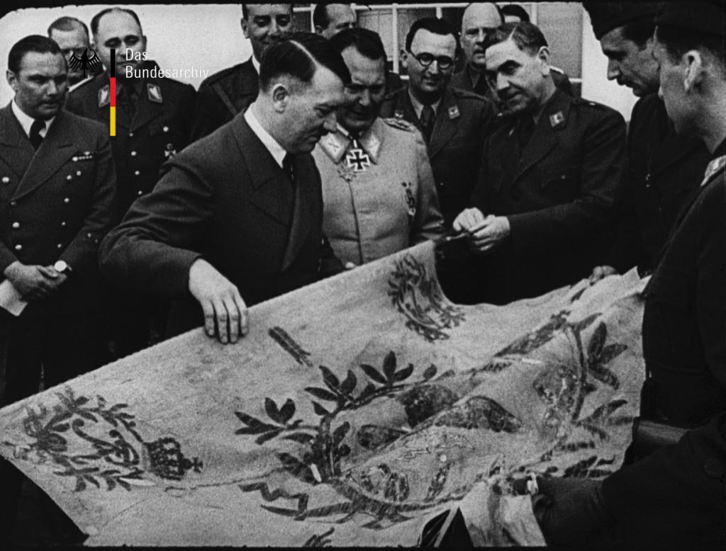 Snapshot from Die Deutsche Wochenschau, no. 562, Das Bundesarchiv, Abteilung Filmarchiv, Berlin